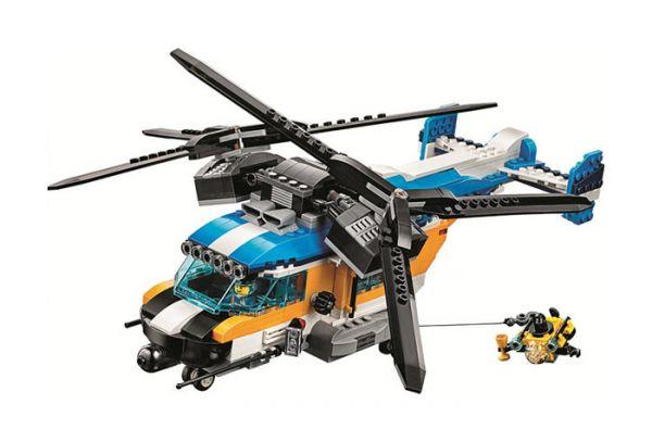 """Конструктор LARI-11400 серии """"CREATE"""" """"Двухроторный вертолет"""""""