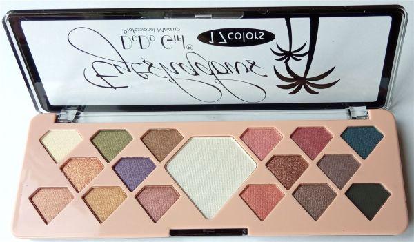 "DoDo Girl Eyeshadows 17 Colors ""B"" палета теней для век 17 цветов"