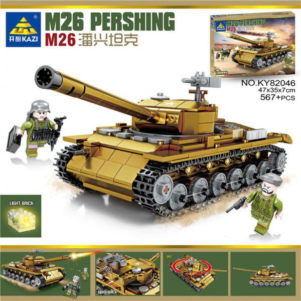 """Конструктор KAZI-82046 серии """"ARMY"""" """"Танк М26 Pershing"""""""