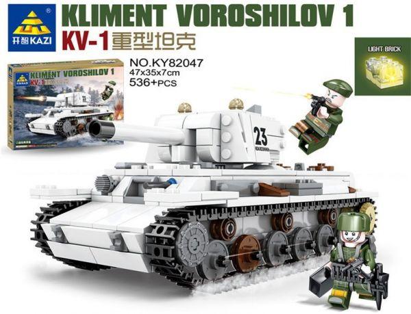"Конструктор KAZI-82047 серии ""ARMY"" ""Танк КВ"""